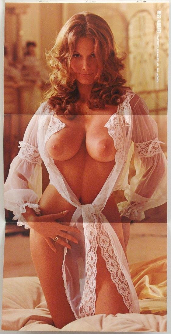 1974 Two-Sided Playboy Centerfold - Nancy Cameron