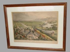 19th Century Across The Continent By Currier Ives