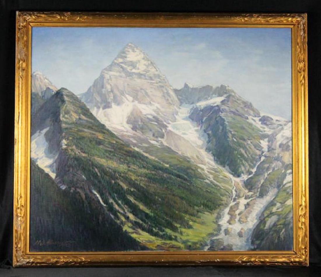 Henry Joseph Breuer Mount Assiniboine British Columbia