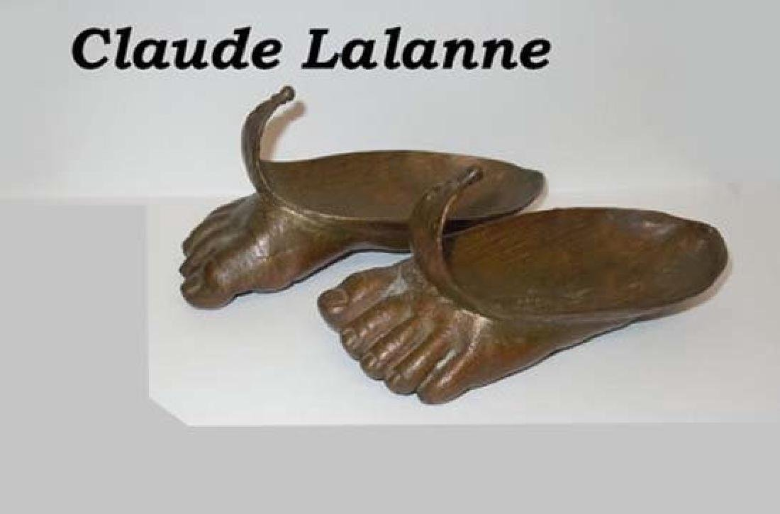 Claude Lalanne Hommage to Magritte Foot Sculpture