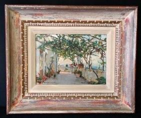 Westchiloff Russian Amerian Impressionist Oil Painting