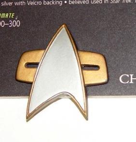 1996 Star Trek First Contact Starfleet Communicator
