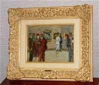 Gabriel Spat B 1890 Oil Painting Impressionist Art