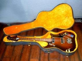 1966 Hagstrom Impala Electric Guitar With Hardtop Case