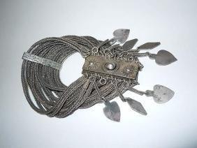 Antique Hand Made Diamonds spades Hearts Tassel Mutli