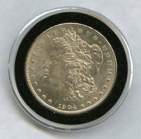 1904-O Morgan Silver Dollar United States Mint MS63 90