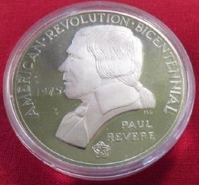 Paul Revere Bicentennial Clad Coin American Revolution