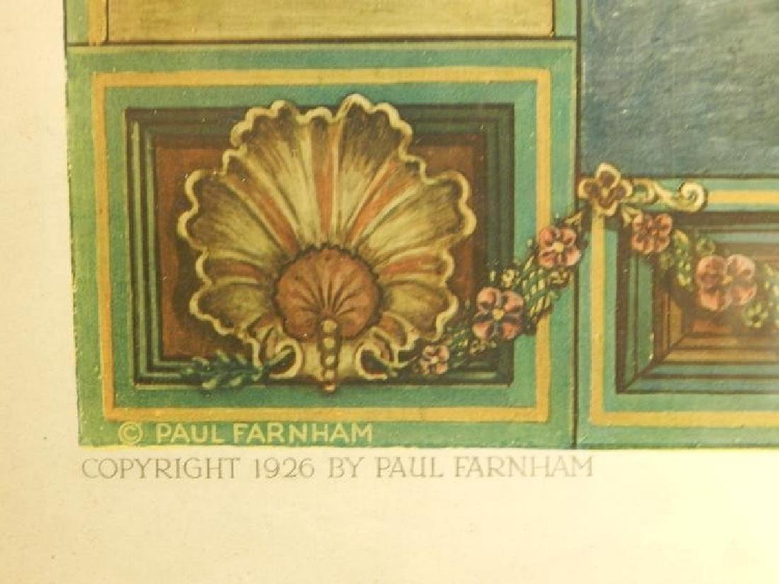 Paul Farnham (After): Spanish Galeon 1926 Lithograph - 3