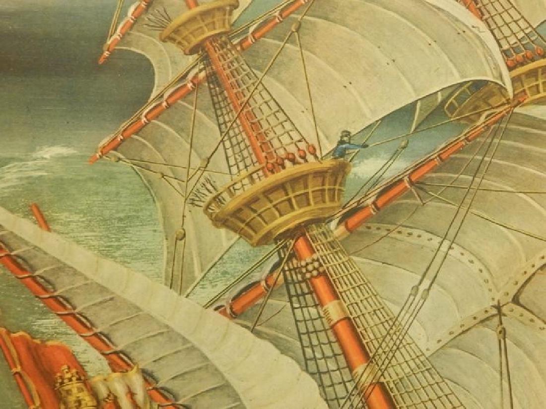 Paul Farnham (After): Spanish Galeon 1926 Lithograph - 7