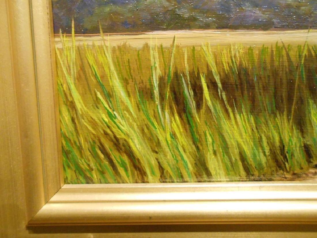 Atlantic Salt Marsh Plein Air Oil Painting - 3