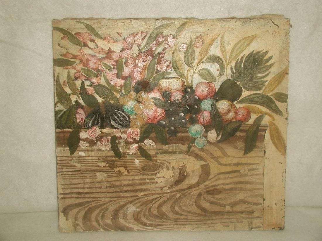 Matching Oil Paintings Unframed Pair On Canvas Early - 6