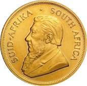 1981 South African Krugerrand 1oz Gold Coin Bullion