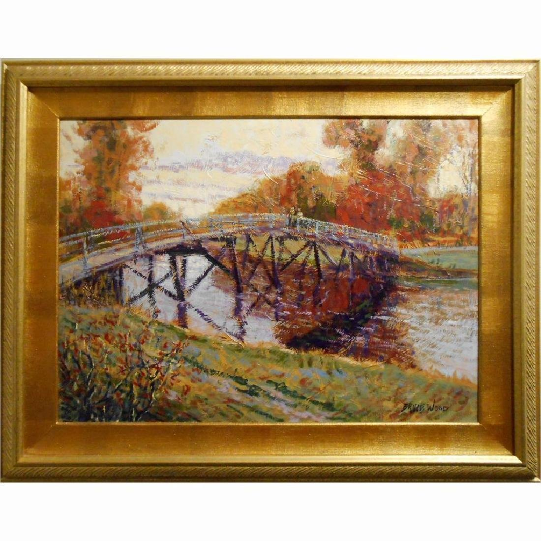 Contemporary Tonalist/Impressionist Landscape By Bruce