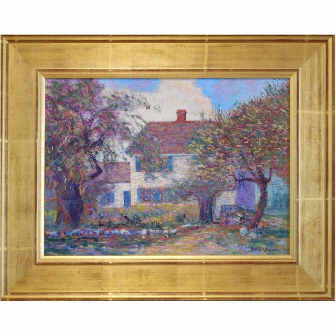 Plein Air Contemporary American Impressionist Landscape
