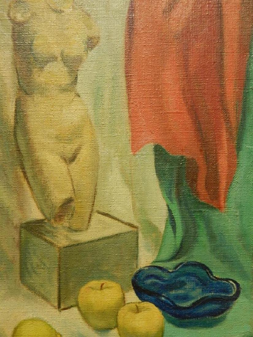 Brill: Still Life Oil Painting c.1950 - 3