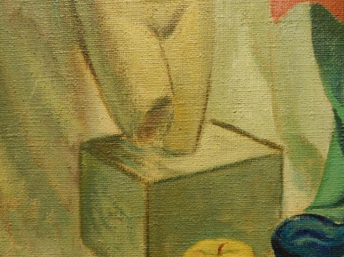 Brill: Still Life Oil Painting c.1950 - 5