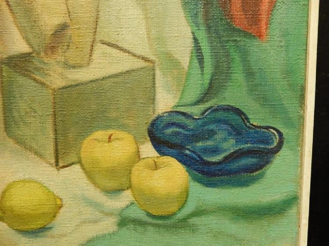 Brill: Still Life Oil Painting c.1950 - 7