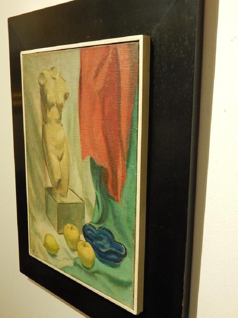 Brill: Still Life Oil Painting c.1950 - 8