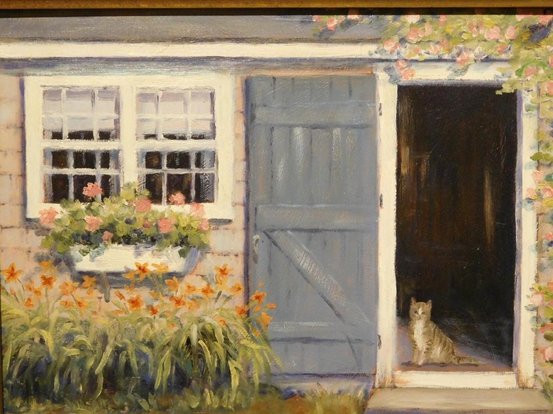 B.J. Borden: Cat in Doorway - 2
