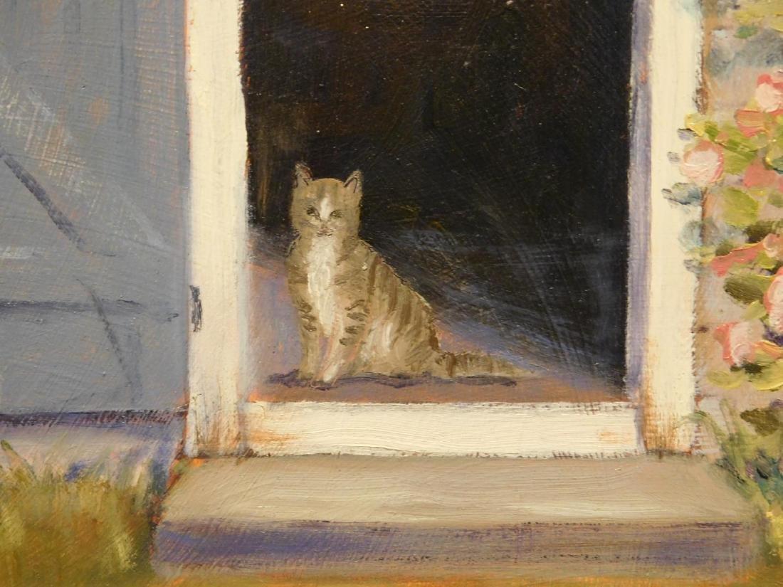 B.J. Borden: Cat in Doorway - 3