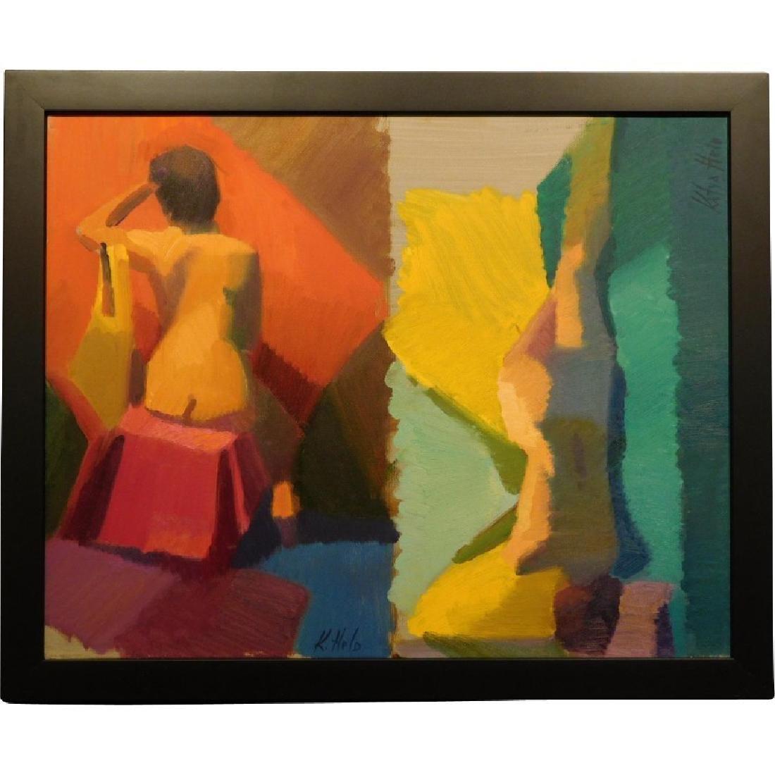 Modern Female Nude Figure Studies by Katya Held