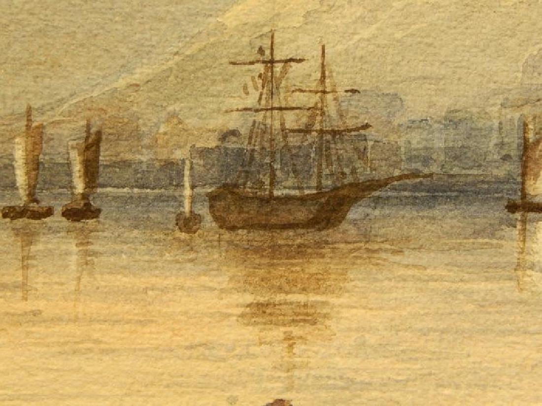 Belgian Harbor, Watercolor, 1885 - 2