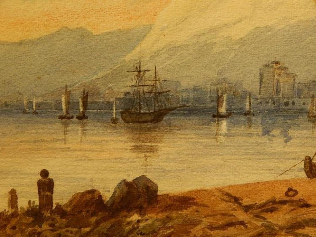 Belgian Harbor, Watercolor, 1885 - 4