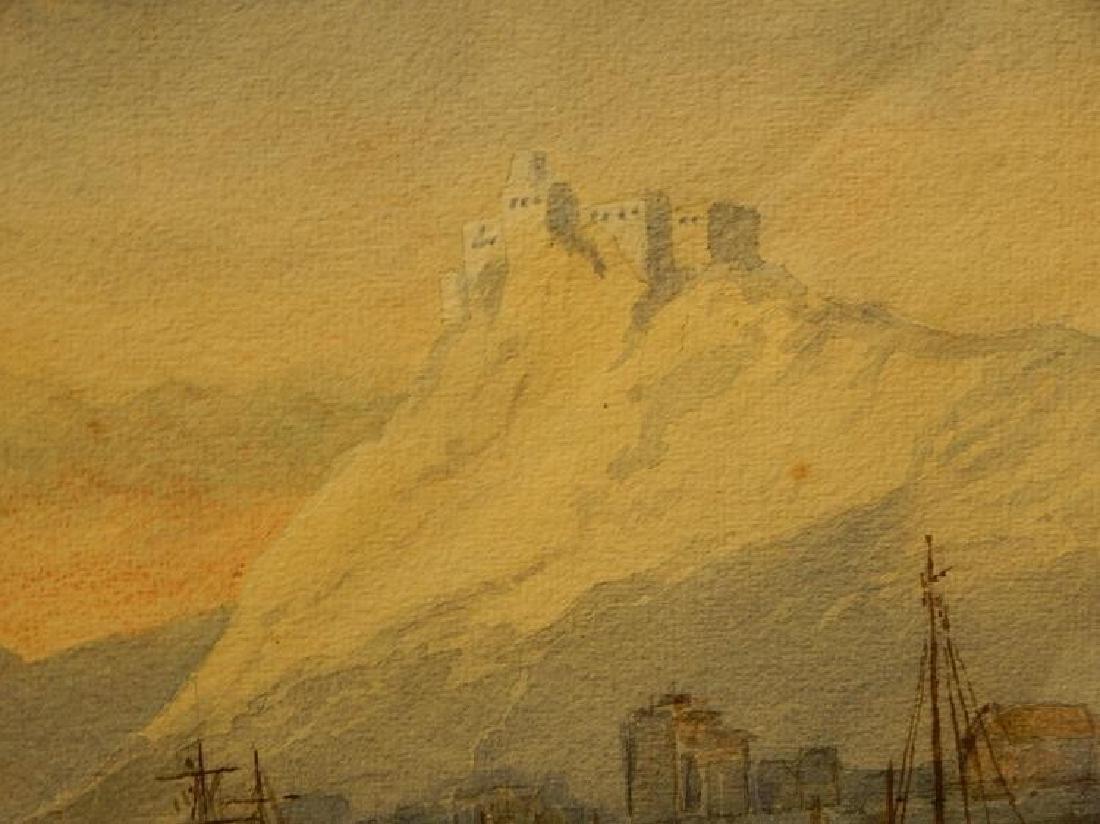 Belgian Harbor, Watercolor, 1885 - 8