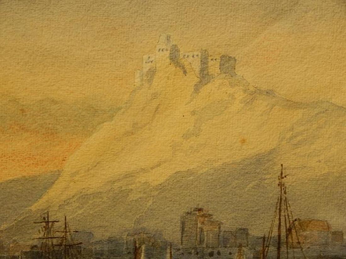 Belgian Harbor, Watercolor, 1885 - 9