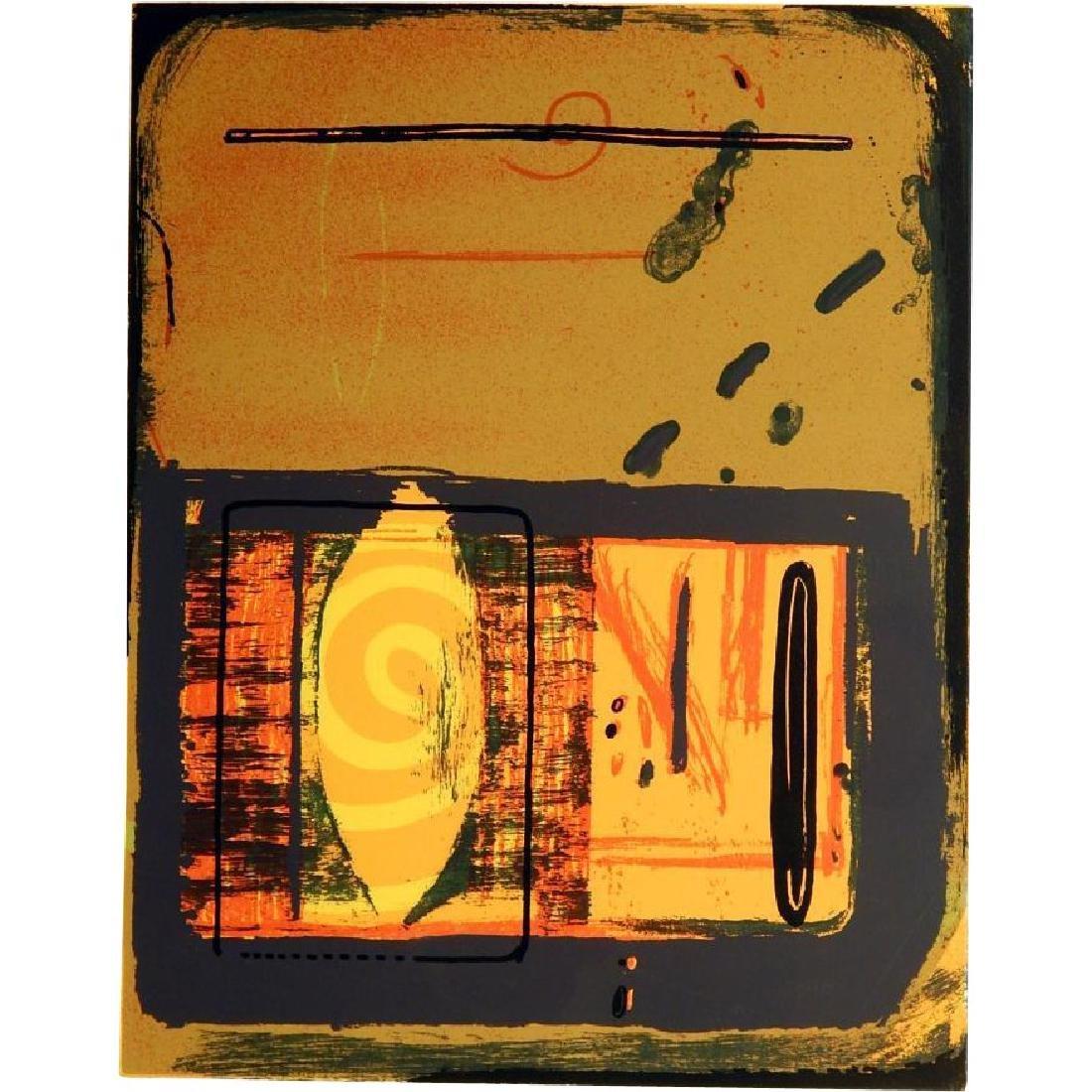 Robert Lee Mejer: Lakeside, 1998 Serigraph
