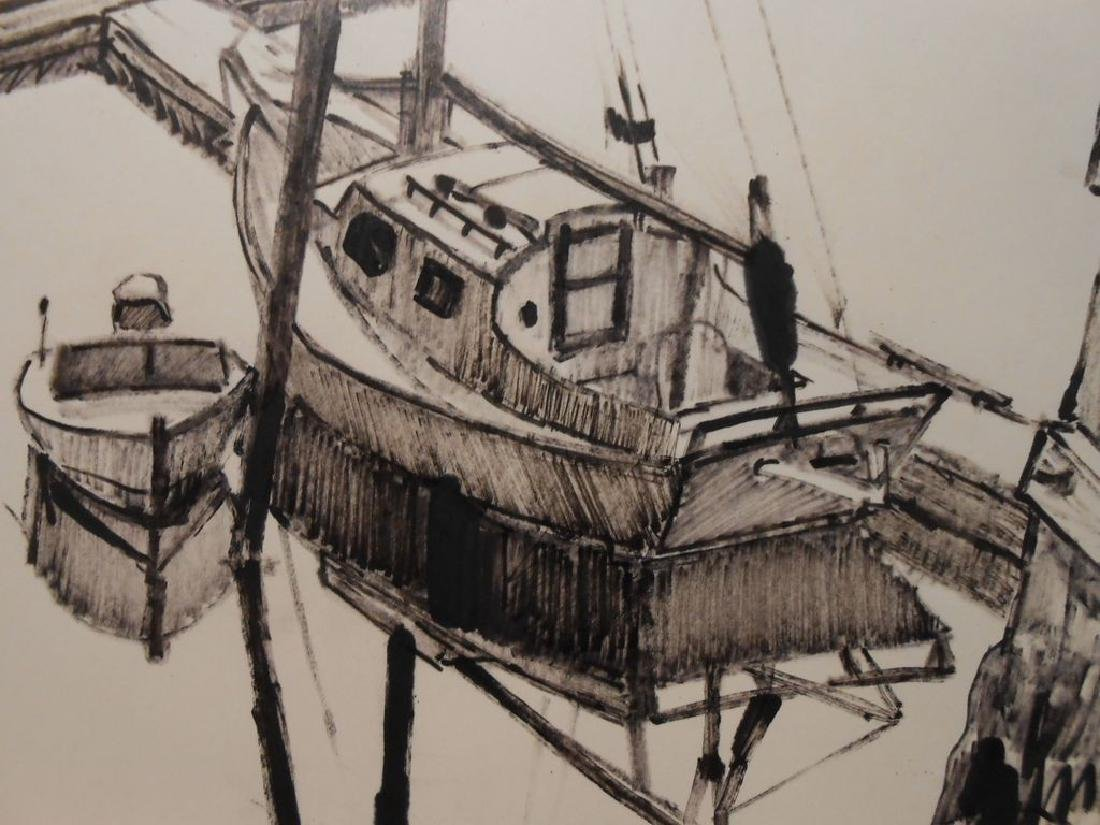 Maine Sailboat Sketch By Palmieri - 3