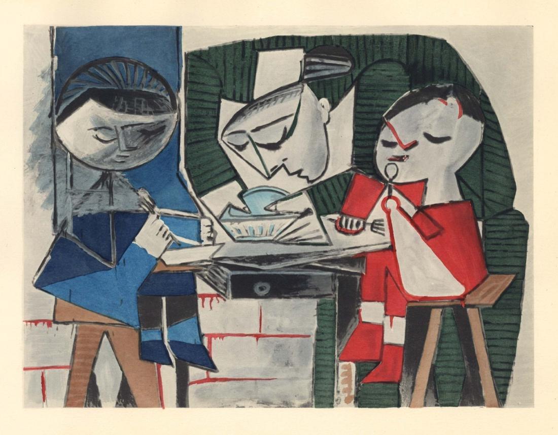 Pablo Picasso pochoir - Le repas | Venti Pochoirs