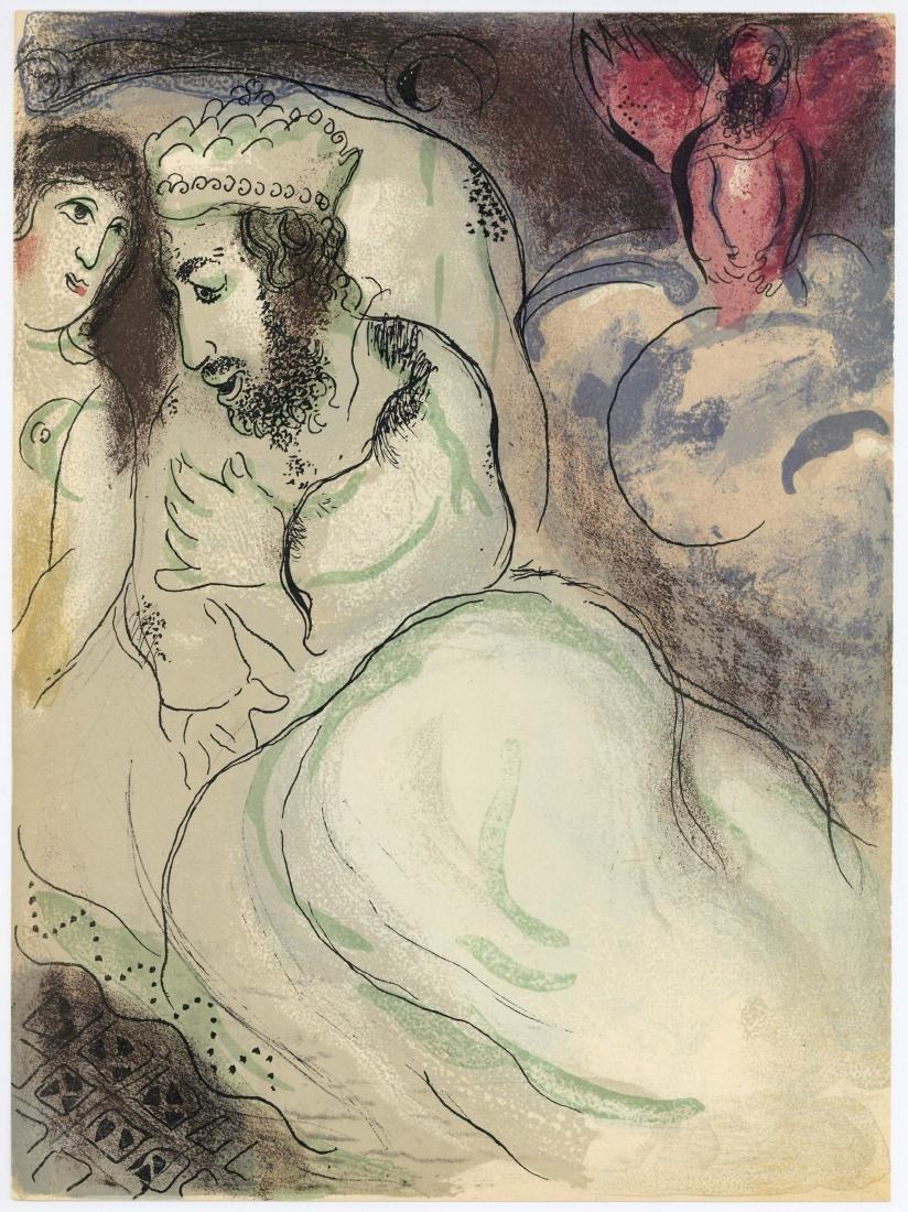 "Marc Chagall ""Sarah and Abimelech"" original Bible"