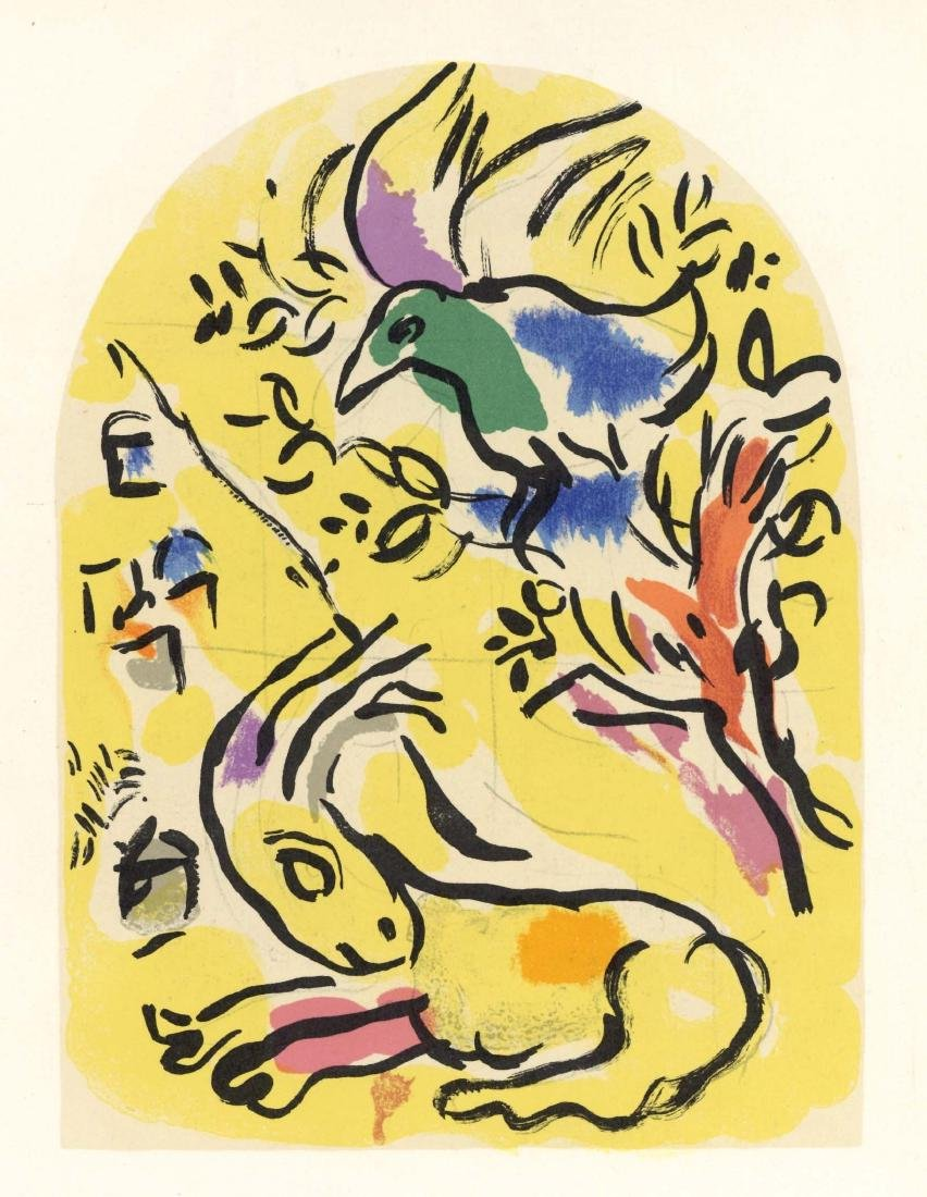 Marc Chagall Twelve Tribes of Israel lithographs - Set