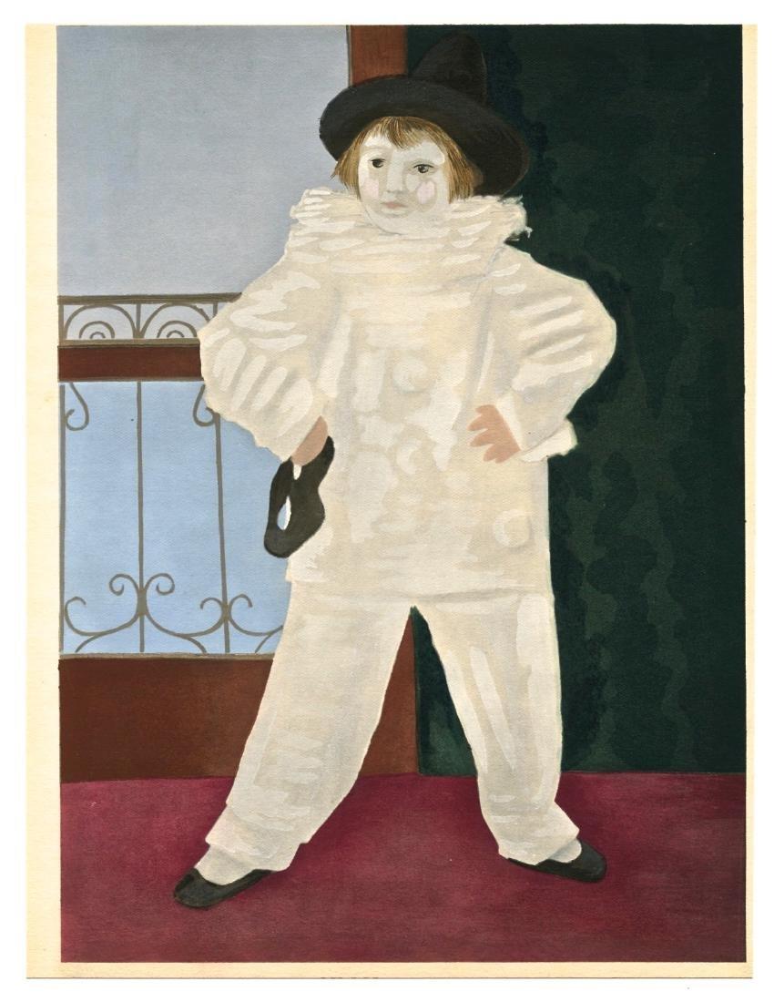 """Pablo Picasso """"Le fils de l'artiste"""" pochoir"""