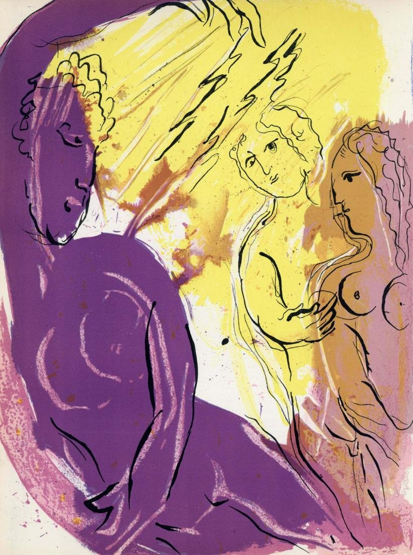 "Marc Chagall ""Angel of Paradise"" original Bible"