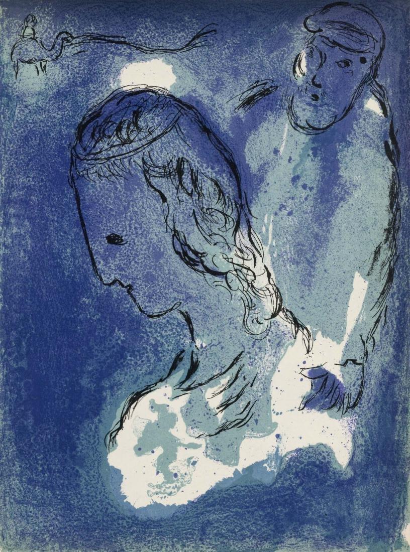 "Marc Chagall ""Abraham and Sarah"" original Bible"