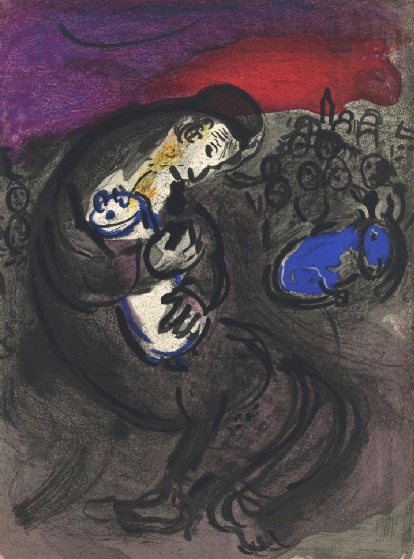 "Marc Chagall ""Jeremiah's Lamentations"" original Bible"