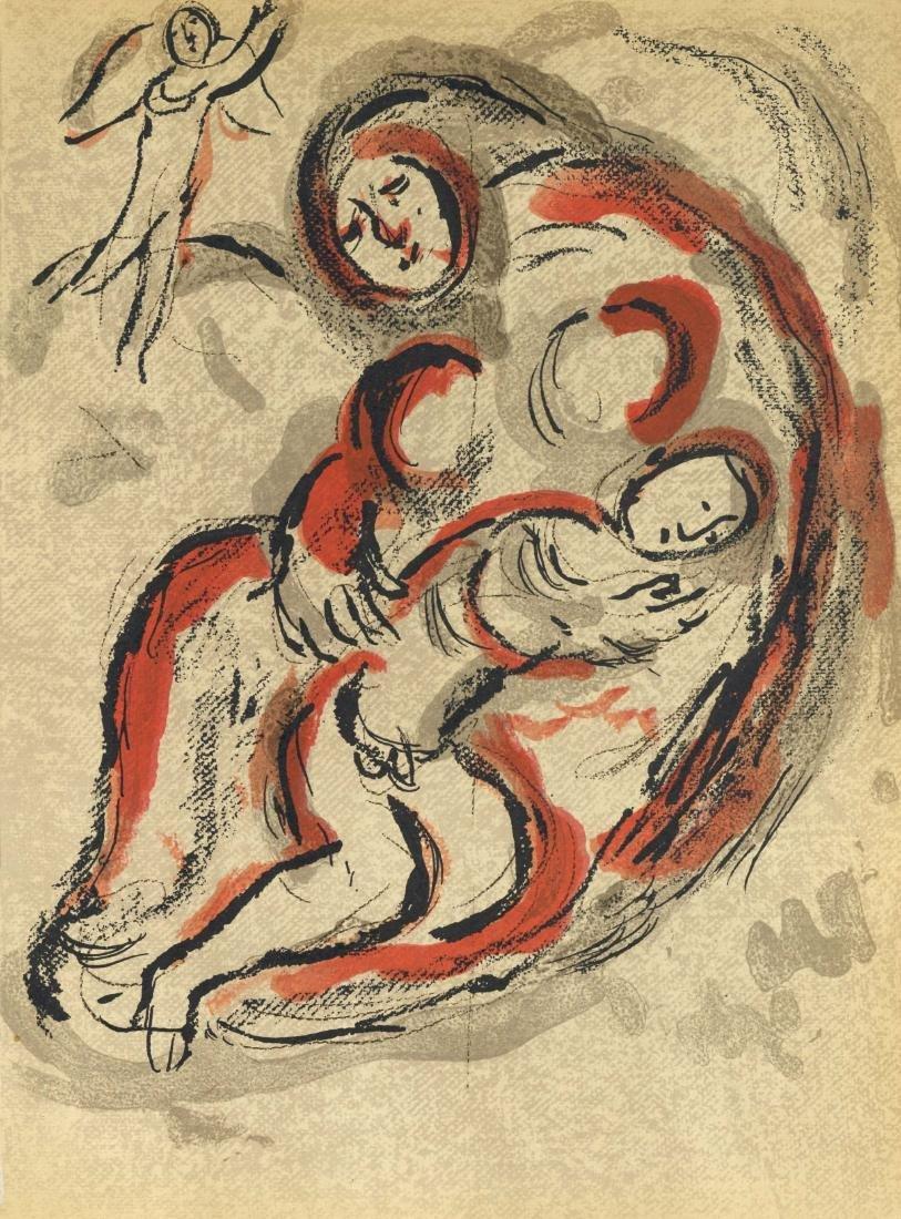 "Marc Chagall ""Hagar in the Desert"" original Bible"