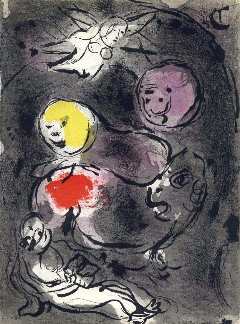 "Marc Chagall ""Daniel in the Lion's Den"" original Bible"