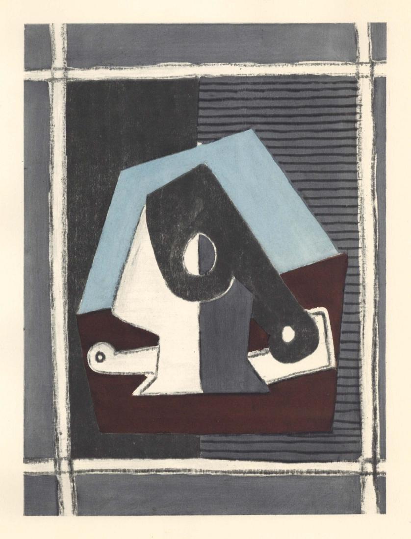 Pablo Picasso pochoir - Composition avec pipa | Venti