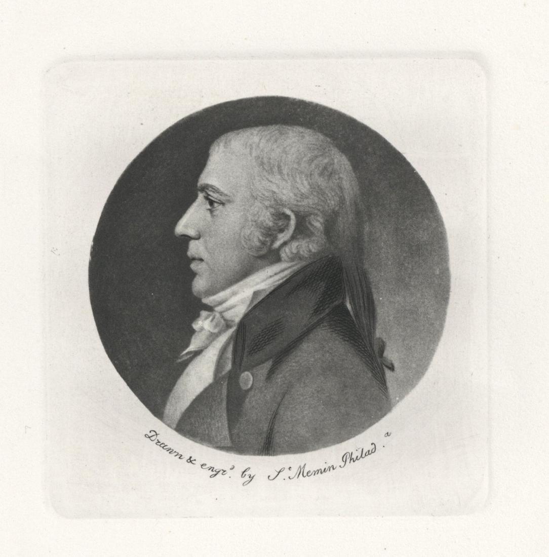 Charles Saint-Memin engraving