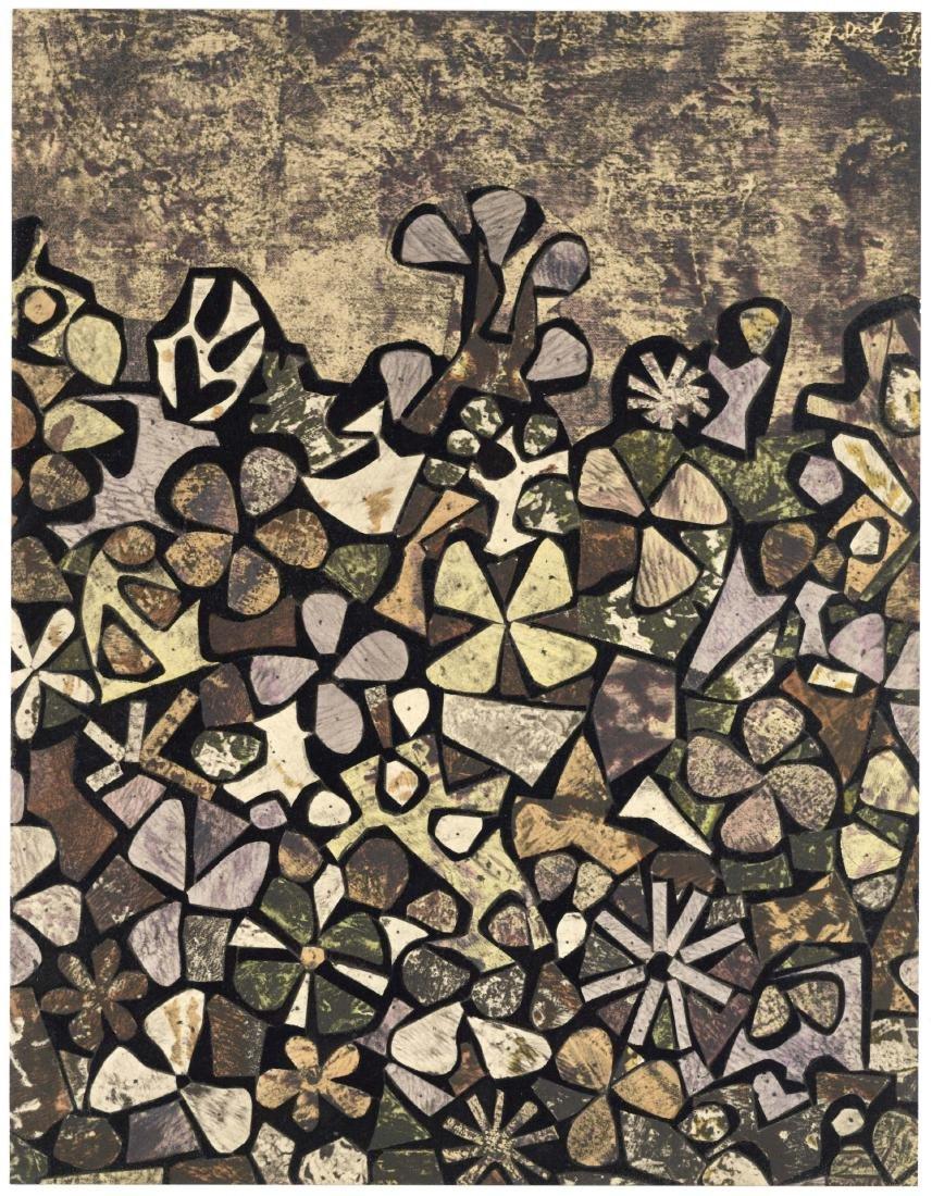 Jean Dubuffet pochoir for XXe Siecle