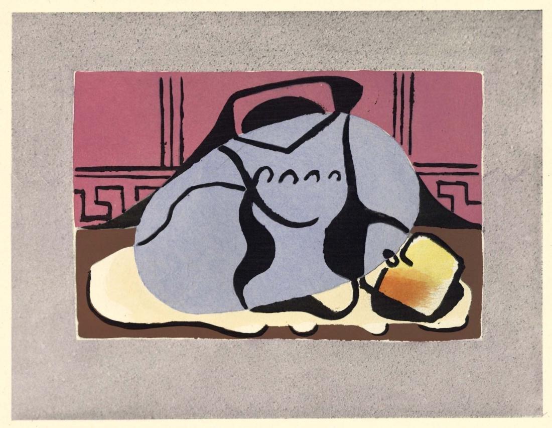 """Pablo Picasso """"Nature morte"""" pochoir"""