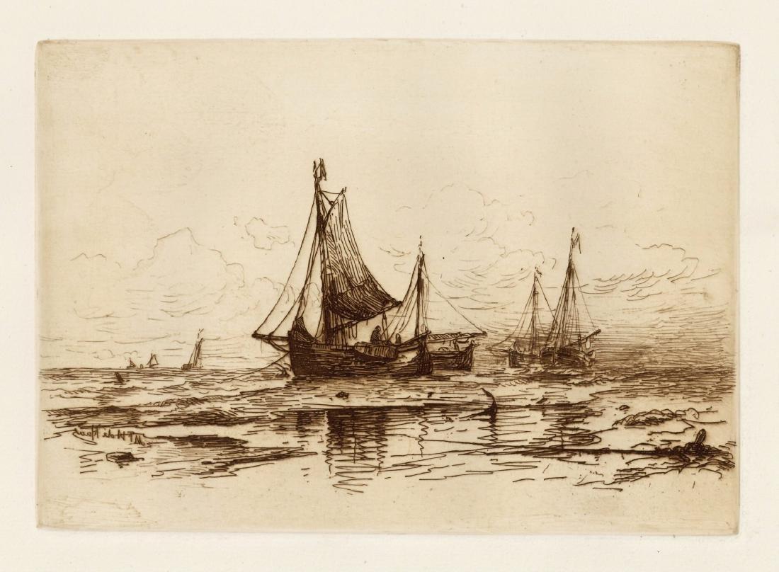 Mauritz Frederik Hendrik De Haas original etching
