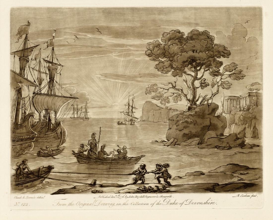 Claude Lorrain / Richard Earlom etching | Liber