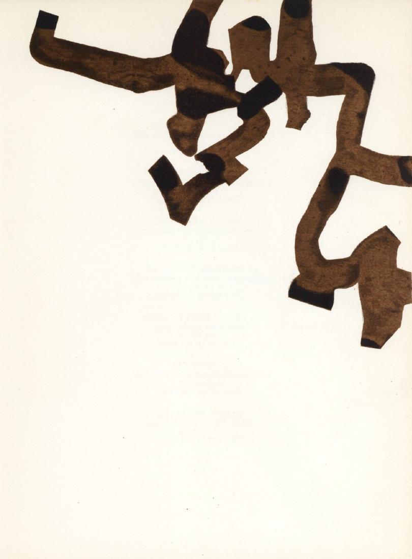 Eduardo Chillida original lithograph, 1966