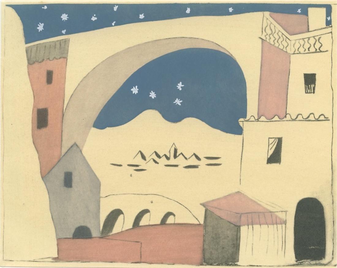 """Pablo Picasso pochoir """"Le Tricorne"""""""