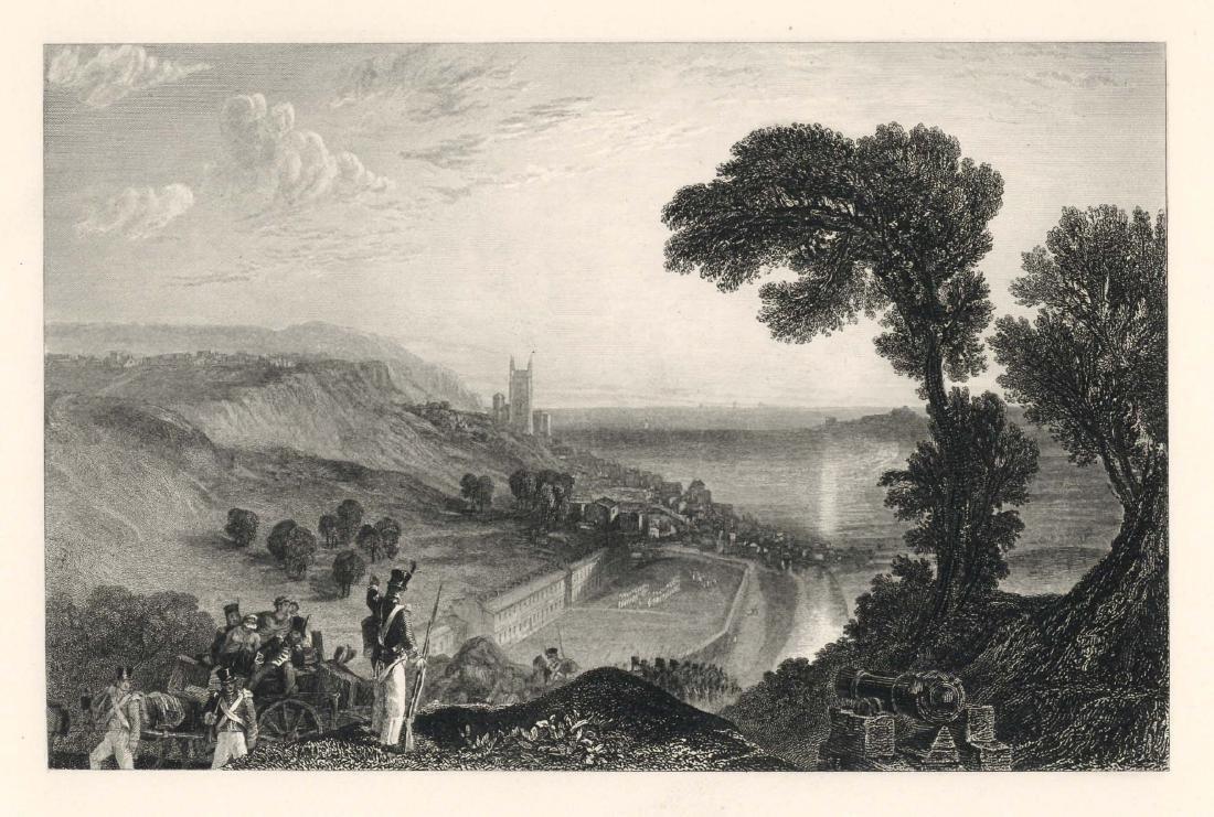 "J. M. W. Turner ""Hythe"" engraving"