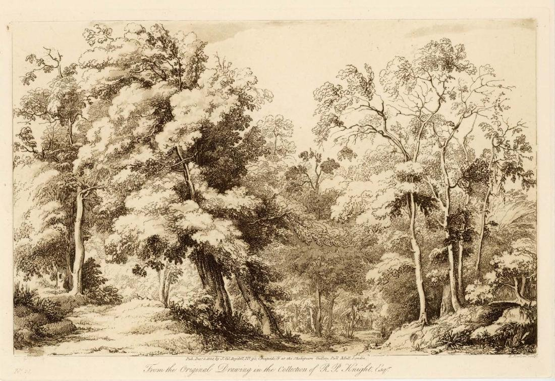 Claude Lorrain / Richard Earlom etching | Liber